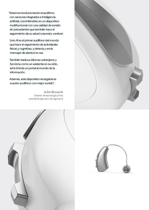 Audífono inteligente que traduce